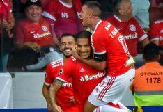 Paolo Guerrero desató enloquecida narración en portugués tras doblete por Copa Libertadores | VIDEOS
