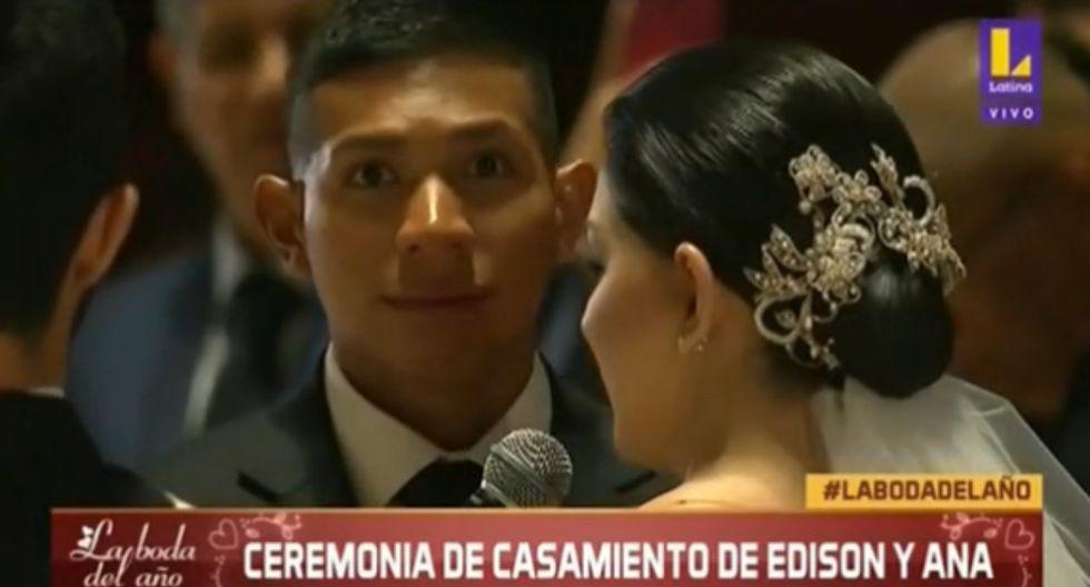 Edison Flores (Foto: captura video)