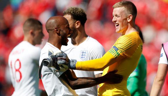Inglaterra ganó por penales 6-5 a Suiza y se quedó con el tercer puesto de la UEFA Nations League | VIDEO. (Foto: AFP)