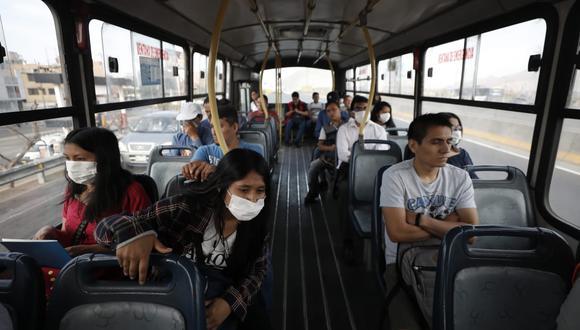 Los buses deberán respetar sus protocolos para evitar contagios de COVID-19. (Foto: GEC)