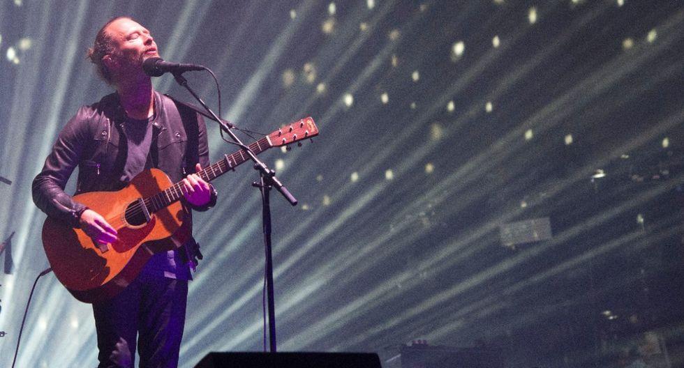 Radiohead libera su historial de shows en vivo para ver en YouTube. (Foto: AFP)