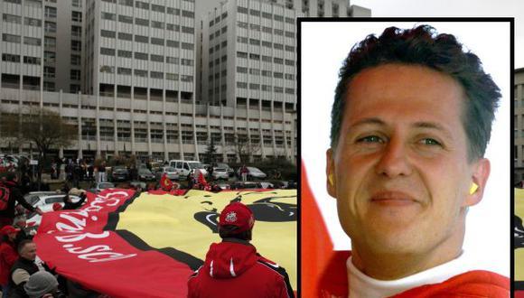 Michael Schumacher sigue en estado crítico pero estable, según su agente