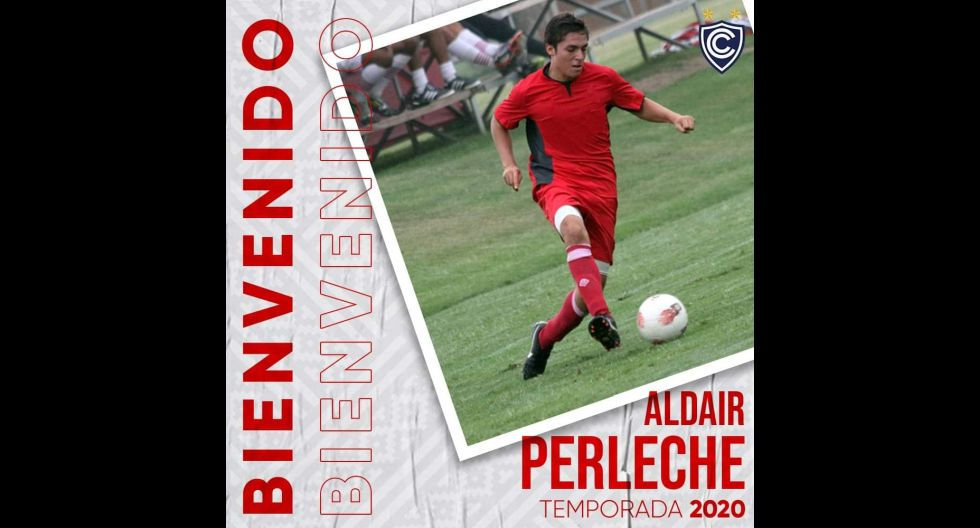 Aldair Perleche procedente de Ayacucho FC. (Foto: Twitter)