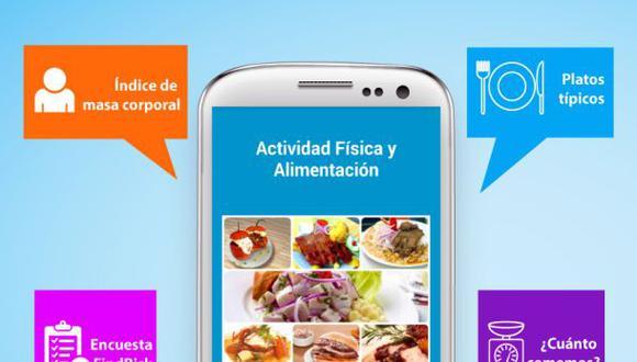Lanzan app que busca mejorar la alimentación de los peruanos