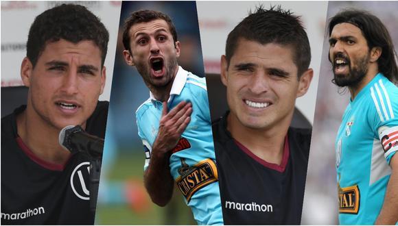 Alexander Succar, Horacio Calcaterra, Aldo Corzo y Jorge Cazulo vuelven a disputar una final. (Fotos: Archivo GEC)