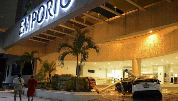 Imágenes del sismo del martes. 7 de septiembre en México (Foto: AFP)