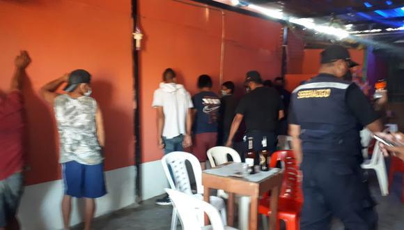Las cantinas clandestinas estaban ubicadas en la quebrada Yale, cerca al puente Víctor Raúl en Talara. (Foto: Municipalidad Provincial de Talara)