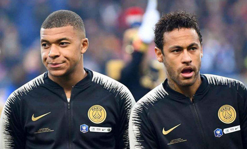 Thomas Tuchel se refiere a Neymar y Kylian Mbappé. (Foto: AFP)
