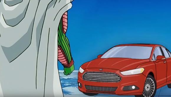 En los videos de YouTube se ve cómo es que Ford promociona sus modelos con Dragon Ball Z. (foto: captura)