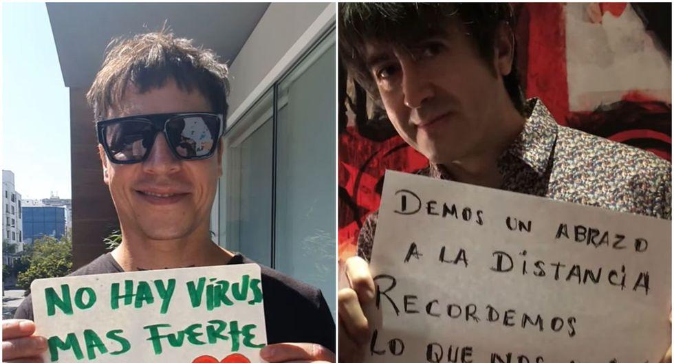 Salim Vera y Toño  Jáuregui aparecen juntos en un videoclip. (Foto: AMÉN Rock Perú)