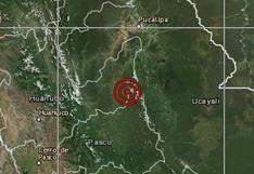 Sismo de 5,3 grados se registró esta mañana en Huánuco