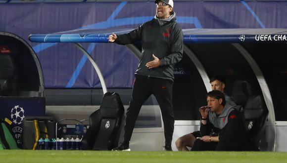 Jurgen Klopp y la polémica frase sobre el estadio del Real Madrid tras la goleada sufrida en Champions League