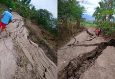 Amazonas: declaran en emergencia localidad de Naranjos Alto por deslizamientos