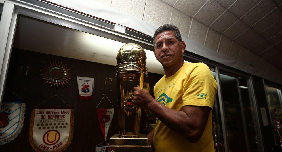 El 'Puma' Carranza es sin discusión alguna uno de los grandes ídolos de Universitario. Durante toda su carrera solo defendió la camiseta crema. (Foto: GEC).