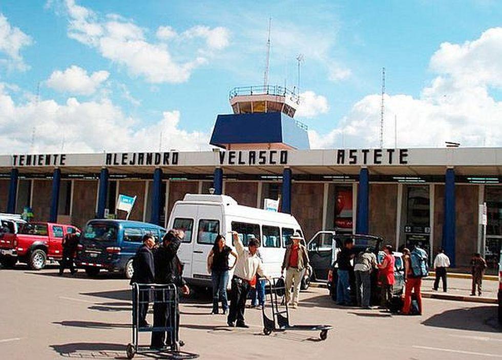El Aeropuerto Velasco Astete recibió 3,9 millones de pasajeros en el 2019.