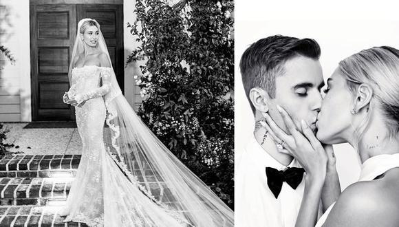 La modelo contrajo nupcias -por segunda vez- con el cantante Justin Bieber. (Fotos: Instagram/ @haileybieber)