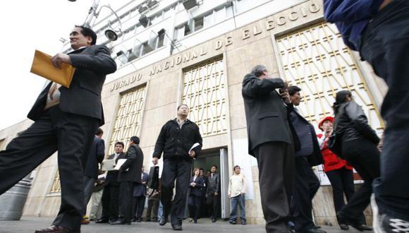 El Jurado Nacional de Elecciones solicita la presencia formal de observadores internacionales. (Foto: GEC)