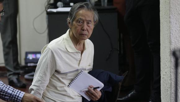El expresidente Alberto Fujimori fue internado en una clínica local la madrugada de este lunes (Foto: GEC).