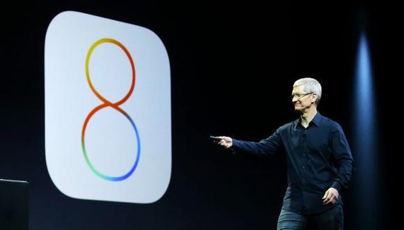 Apple retiró actualización de iOS8 por problemas de instalación