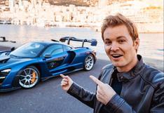 YouTube: Nico Rosberg llega a Francia para probar el McLaren Senna | VIDEO