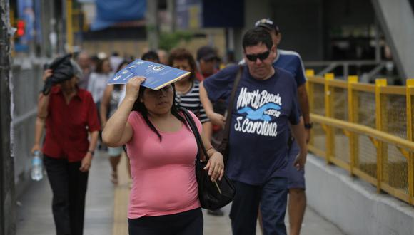 En Lima Oeste, la temperatura máxima llegaría a 27°C, mientras que la mínima sería de 18°C. (Foto: GEC)