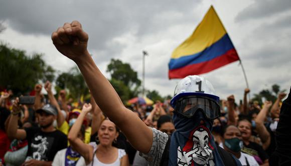 Cali y Bogotá aún albergan protestas contra el Gobierno de Iván Duque. (Foto de archivo: Luis Robayo/ AFP)