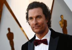 """Matthew McConaughey confiesa en """"Greenlights"""" que sufrió abusos a los 18 años"""