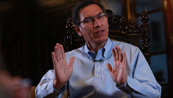 Este jueves, se revelaron audios del diálogo entre el presidente Martín Vizcarra con personal de su despacho, así como de Richard Cisneros -conocido como 'Richard Swing'- con Karem Roca. (Foto: El Comercio)