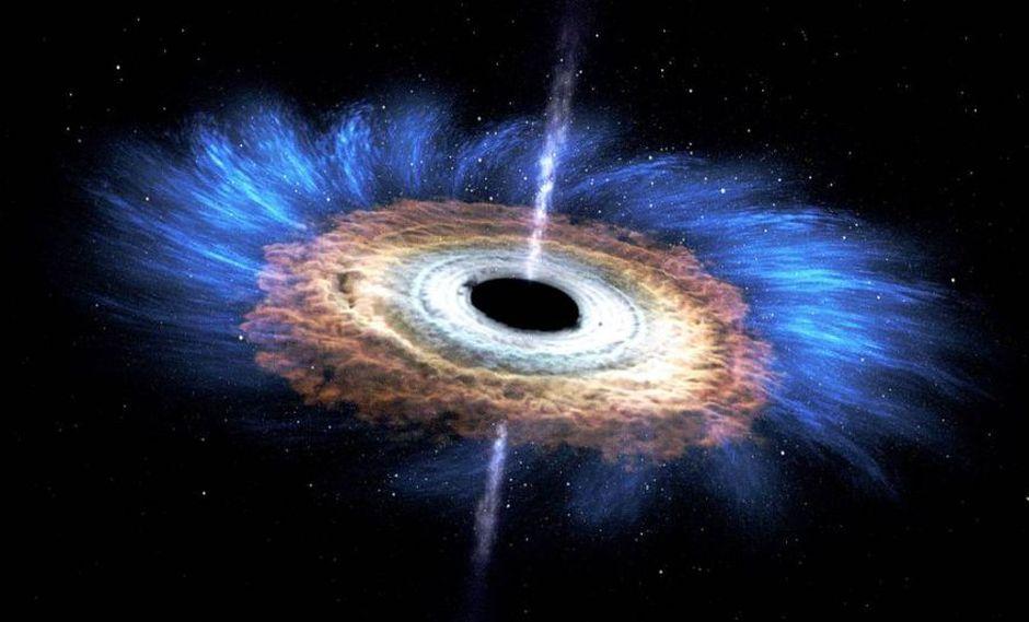 Los agujeros negros supermasivos se encuentran en el centro de las galaxias y, aunque predominan en el Universo actual, no se sabe con certeza cuándo se formaron ni cuántos hay. (Foto: NASA)