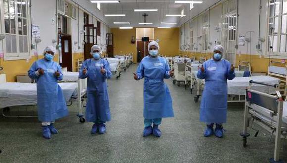 La cantidad de pacientes recuperados subió este miércoles. (Foto: Minsa)