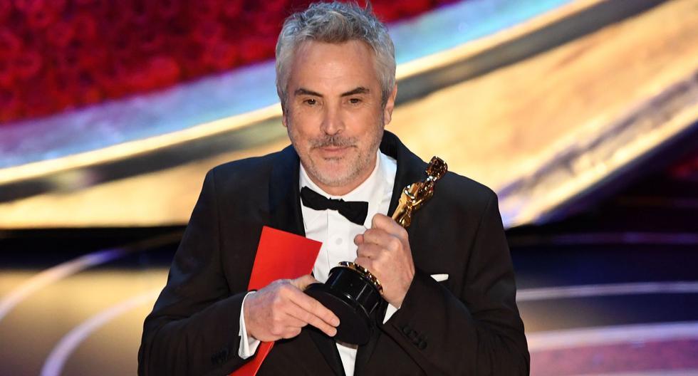 Alfonso Cuarón va recoger su estatuilla por Mejor película extranjera. (Foto: Agencias)