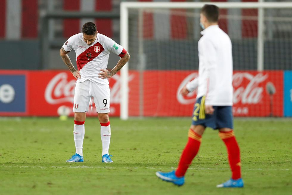 Perú cayó frente a Colombia: los rostros de la frustración en el estadio Nacional de Lima | Foto: Agencias
