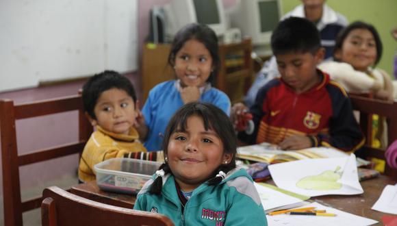 Niños en ludoteca de Ilo, Tacna, que forma parte de la red de obra social de los Jesuitas del Perú. (Foto: ODP Jesuitas)