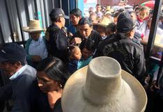 Suspendieron Elecciones 2018 en un centro poblado de Cajamarca