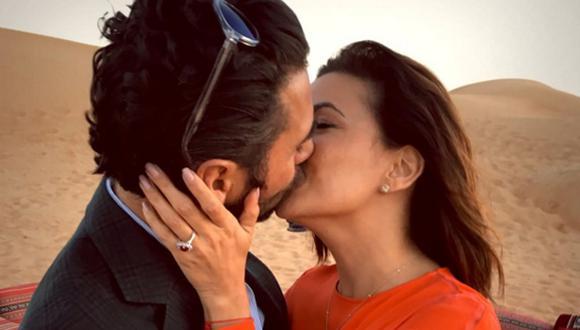 Eva Longoria se comprometió con el presidente de Televisa