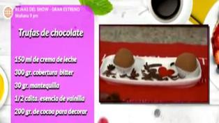 Postres: Aprende a preparar unas deliciosas trufas de chocolate