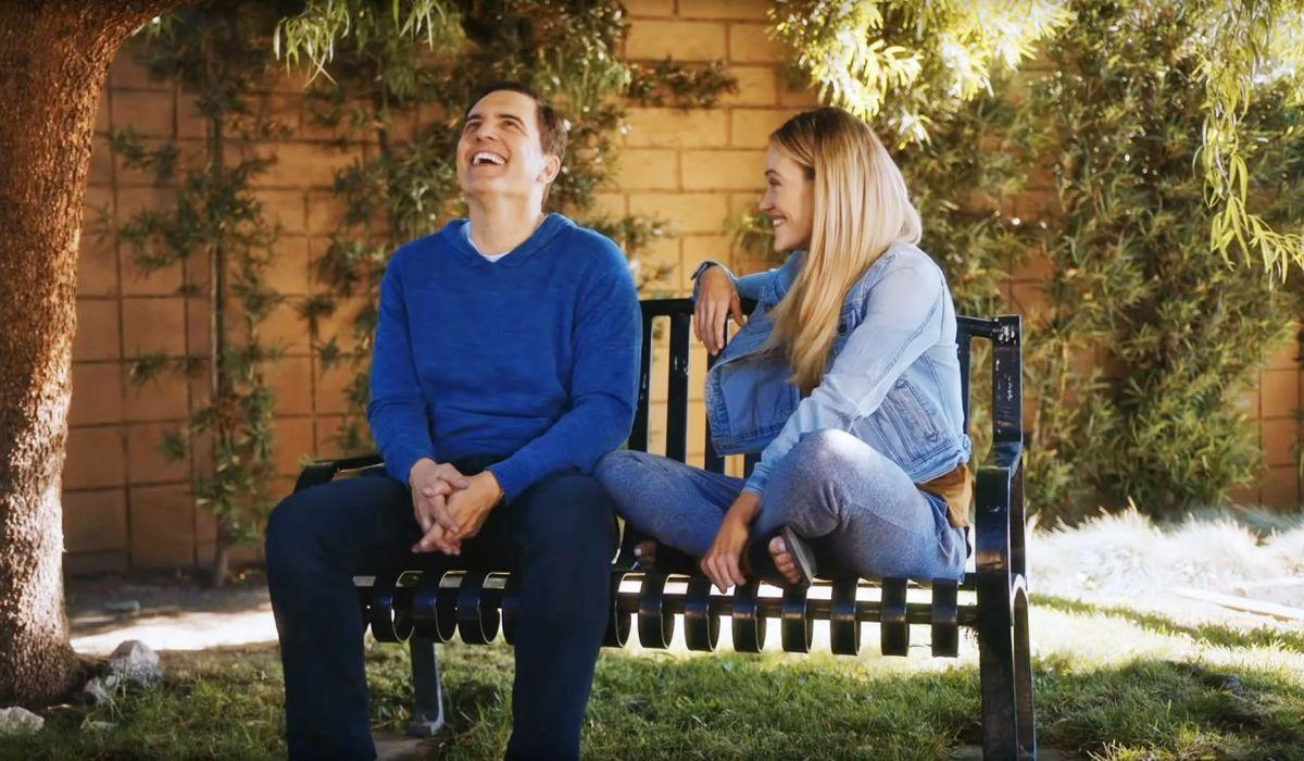 Los actores Peta Murgatroyd y Robert Krantz son los protagonistas de la película (Foto: Netflix)