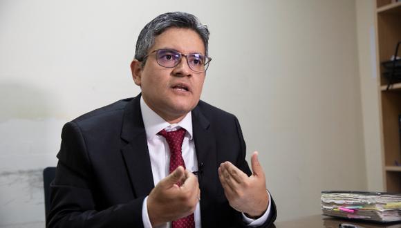José Domingo Pérez ha pedido que se tomen medidas frente a las amenazas en su contra. (Foto: Archivo GEC)