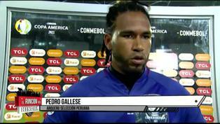 Pedro Gallese no ocultó su tristeza e insatisfacción tras goleada