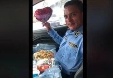 Policía murió en violenta fuga de 'Porky' tras recibir sorpresa por San Valentín | VIDEO