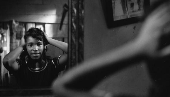 "Rosa Isabel Morffino en escena de ""Juliana"". (Foto: Grupo Chaski)"