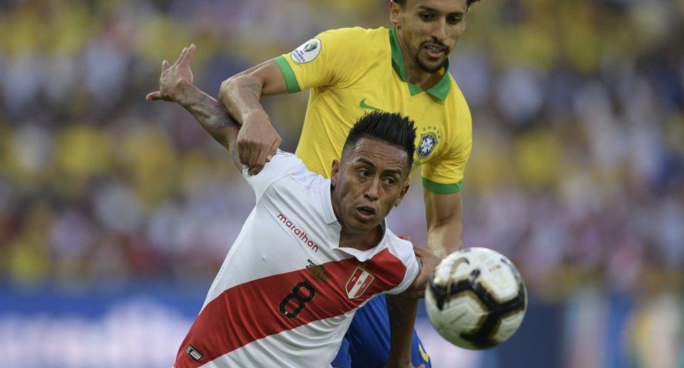 Christian Cueva aún no define su futuro en el fútbol tras ser apartado de Santos. (Foto: AFP)