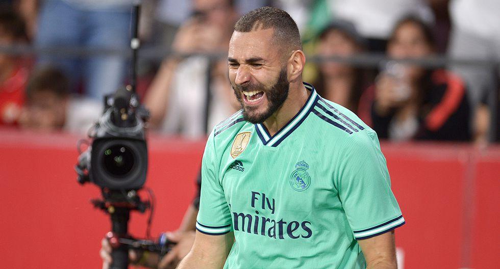 Karim Benzema está entre los máximos goleadores del Real Madrid. (Foto: AFP)