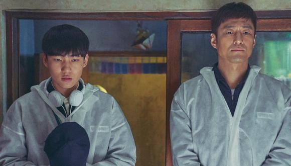 """¿Qué sucederá con Geu Roo y Jo Sang Goo en una segunda temporada de """"Mudanzas al cielo""""? (Foto: Netflix)"""