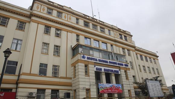 """El Hospital Nacional Docente Madre- Niño """"San Bartolomé"""" se ubica en la avenida Alfonso Ugarte, en el Cercado de Lima. (Archivo)"""