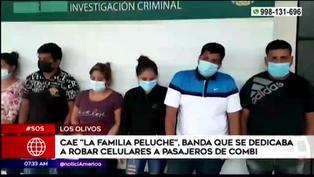 """Capturan a """"La familia peluche"""", banda dedicada al robo de celulares en transporte público"""