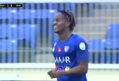 André Carrillo volvió a anotar con Al-Hilal en la Saudi Professional League | VIDEO