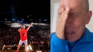 Raúl Romero comparte emotivo video por su regreso a los escenarios