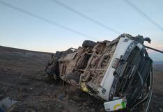 Solo en junio del 2021, al menos 40 personas murieron tras accidentes en carreteras del Perú