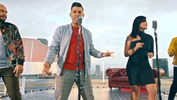 """N'Klabe asciende en la lista Billboard con """"Probabilidad de amor"""" tema con Daniela Darcourt. (Foto: Captura de YouTube)"""